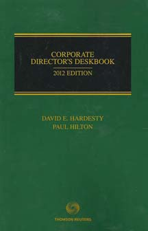 Corporate Directors Deskbook